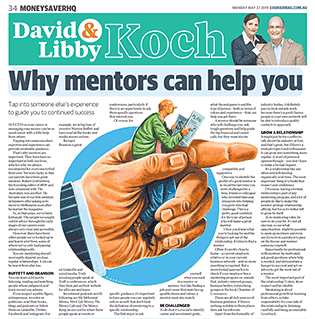 How mentors can help improve your career and your finances